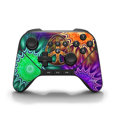 Amazon Fire Game Controller Skin - Peace Triptik