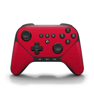 Amazon Fire Game Controller Skin - Solid State Red