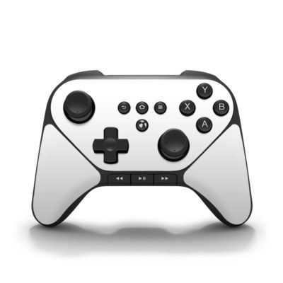 Amazon Fire Game Controller Skin - Solid State White