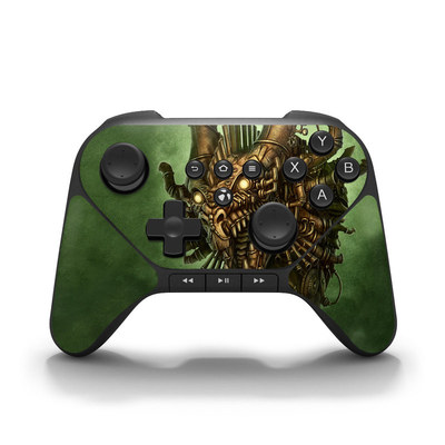 Amazon Fire Game Controller Skin - Steampunk Dragon