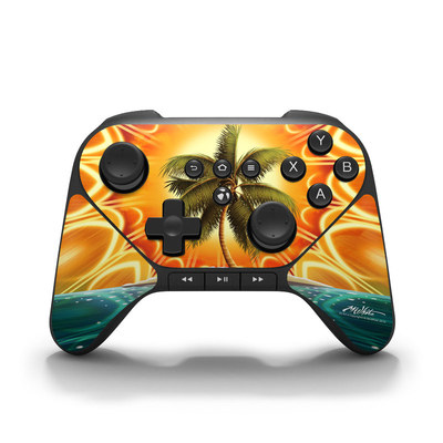 Amazon Fire Game Controller Skin - Sundala Tropic