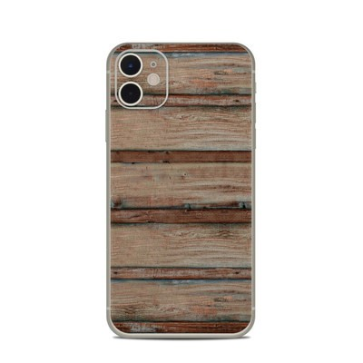 Apple iPhone 11 Skin - Boardwalk Wood