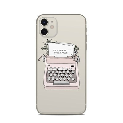 Apple iPhone 11 Skin - Dont Stop