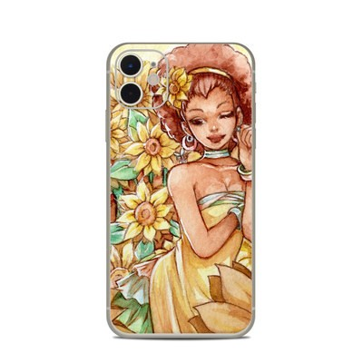 Apple iPhone 11 Skin - Lady Sunflower