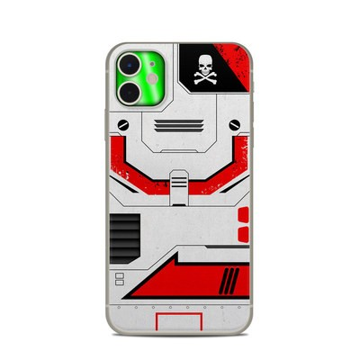 Apple iPhone 11 Skin - Red Valkyrie