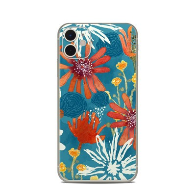 Apple iPhone 11 Skin - Sunbaked Blooms