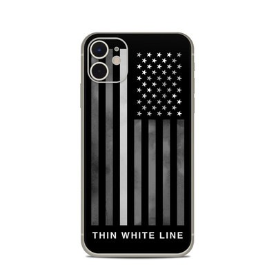 Apple iPhone 11 Skin - Thin White Line
