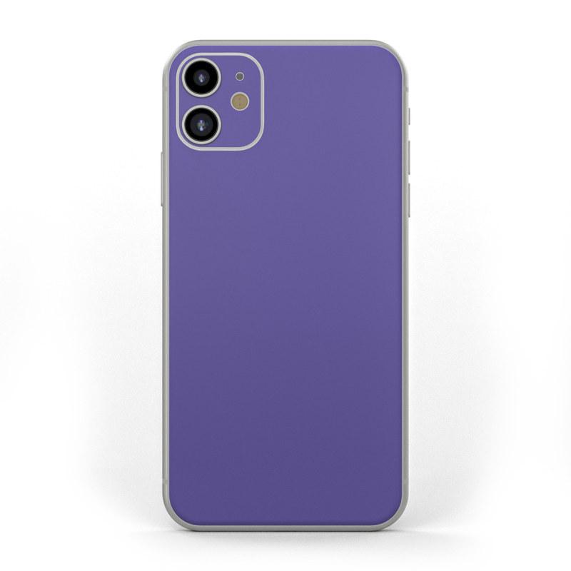 Apple iPhone 11 Skin , Solid State Purple