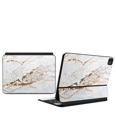 Apple Magic Keyboard (iPad Pro 11in, 2nd Gen) Skin - Hazel Marble