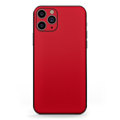 Apple iPhone 11 Pro Skin - Solid State Red