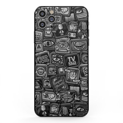 Apple iPhone 11 Pro Max Skin - Distraction Tactic B&W