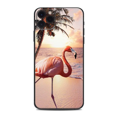 Apple iPhone 11 Pro Max Skin - Flamingo Palm