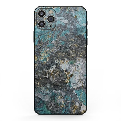 Apple iPhone 11 Pro Max Skin - Gilded Glacier Marble
