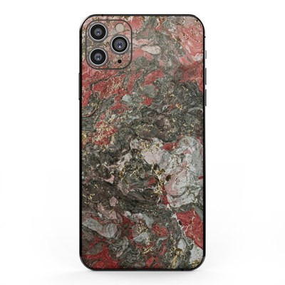 Apple iPhone 11 Pro Max Skin - Gilded Magma Marble