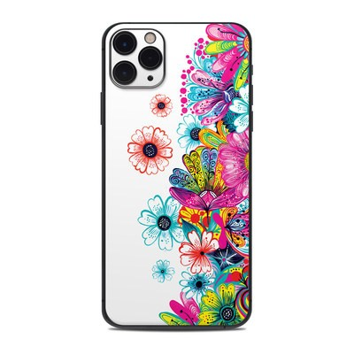 Apple iPhone 11 Pro Max Skin - Intense Flowers