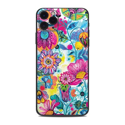 Apple iPhone 11 Pro Max Skin - Natural Garden