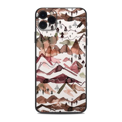 Apple iPhone 11 Pro Max Skin - Red Mountains