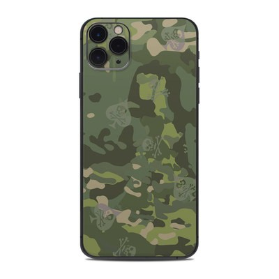 Apple iPhone 11 Pro Max Skin - SOFLETE Tropical Multicam
