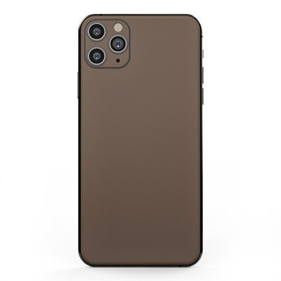 Apple iPhone 11 Pro Max Skin - Solid State Flat Dark Earth