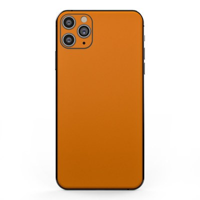 Apple iPhone 11 Pro Max Skin - Solid State Orange