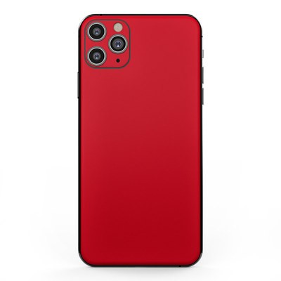 Apple iPhone 11 Pro Max Skin - Solid State Red