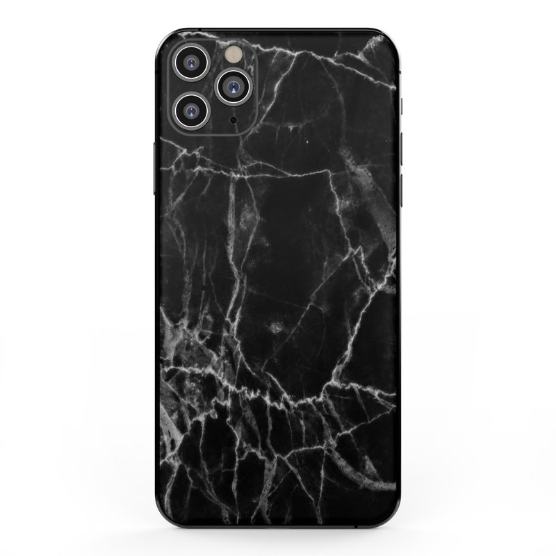 Apple Iphone 11 Pro Max Skin Black Marble By Marble Collection Decalgirl