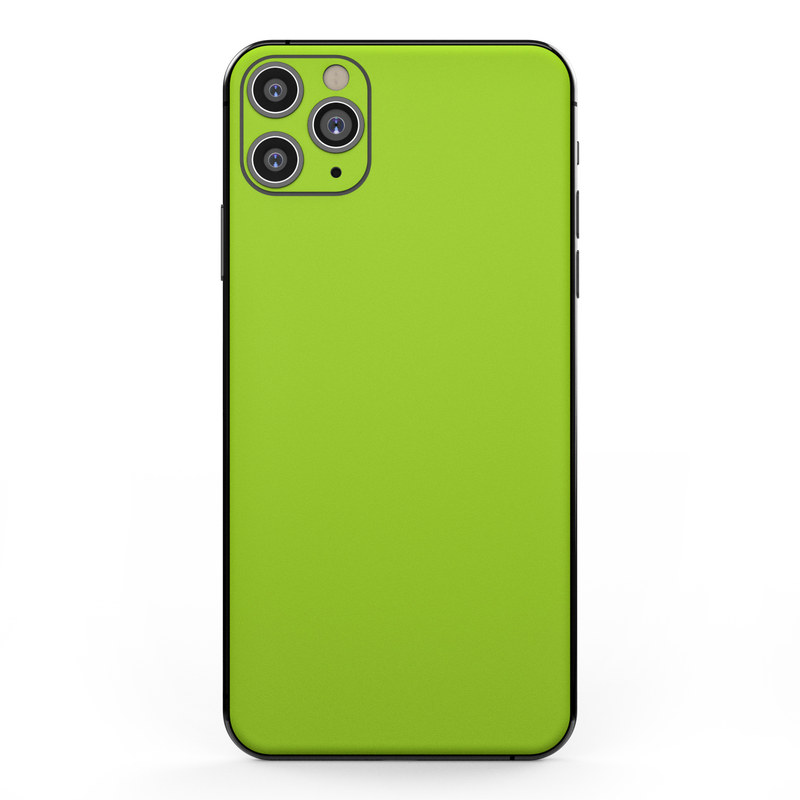 Apple iPhone 11 Pro Max Skin , Solid State Lime