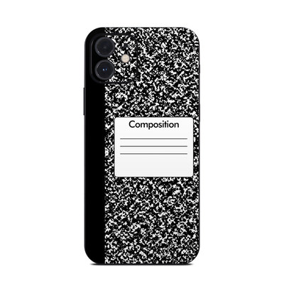 Apple iPhone 12 Skin - Composition Notebook