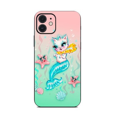 Apple iPhone 12 Skin - Merkitten with Lei