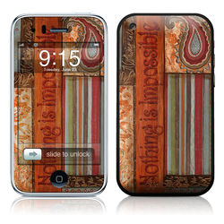 iPhone 3G Skin - Be Inspired