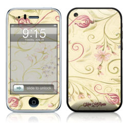 iPhone 3G Skin - Tulip Scroll