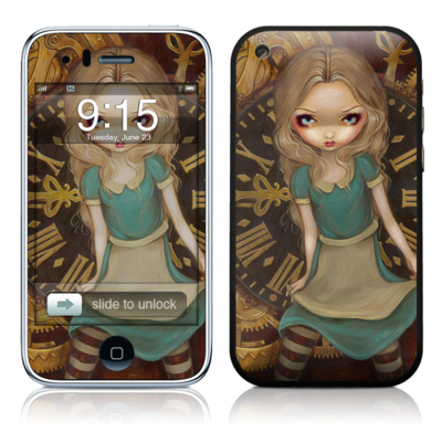 iPhone 3G Skin - Alice Clockwork