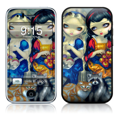 iPhone 3G Skin - Alice & Snow White