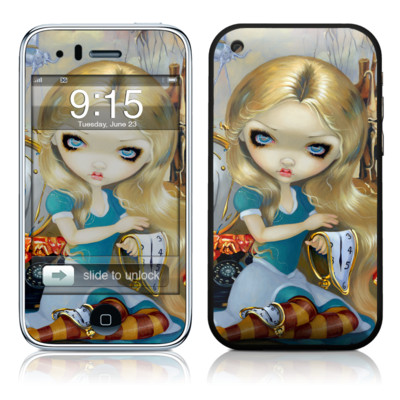 iPhone 3G Skin - Alice in a Dali Dream