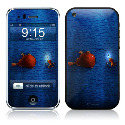 iPhone 3G Skin - Angler Fish