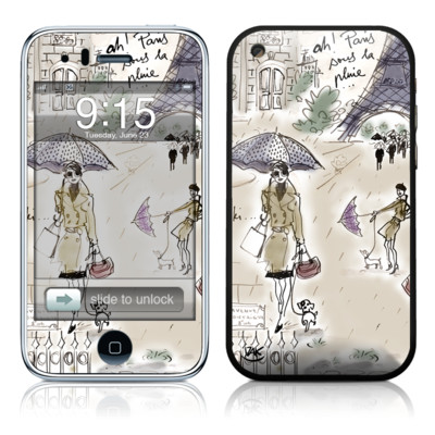iPhone 3G Skin - Ah Paris