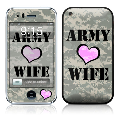 iPhone 3G Skin - Army Wife