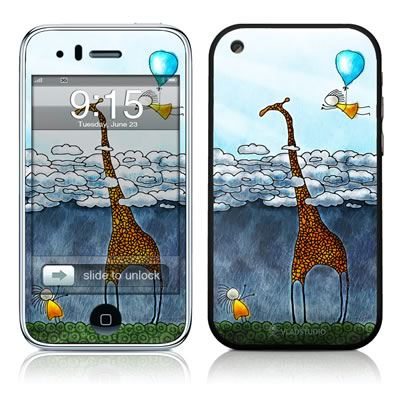 iPhone 3G Skin - Above The Clouds