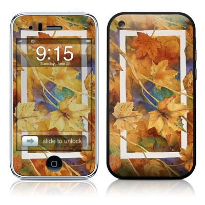 iPhone 3G Skin - Autumn Days