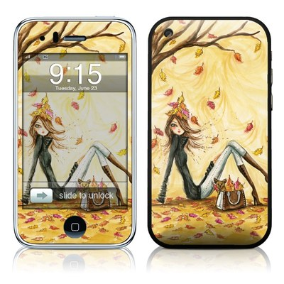 iPhone 3G Skin - Autumn Leaves