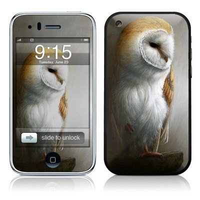 iPhone 3G Skin - Barn Owl