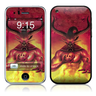 iPhone 3G Skin - The Beast