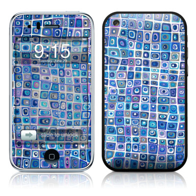 iPhone 3G Skin - Blue Monday