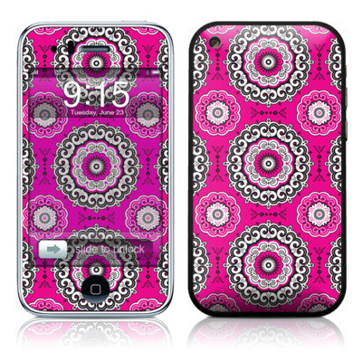 iPhone 3G Skin - Boho Girl Medallions