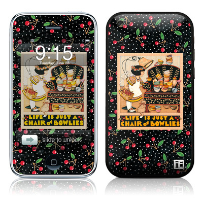 iPhone 3G Skin - Chair of Bowlies