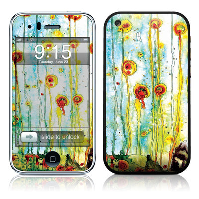 iPhone 3G Skin - Beneath The Surface