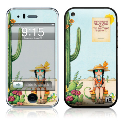 iPhone 3G Skin - Cactus