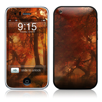 iPhone 3G Skin - Canopy Creek Autumn