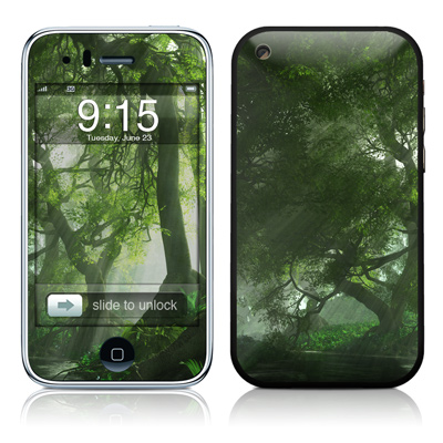 iPhone 3G Skin - Canopy Creek Spring