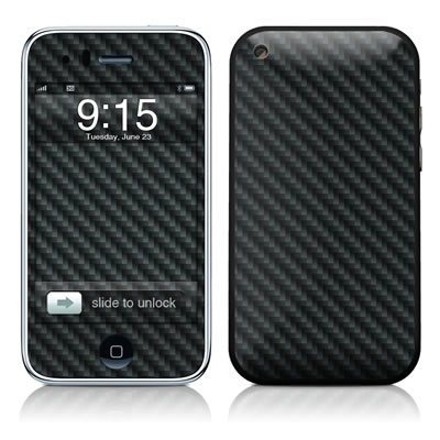 iPhone 3G Skin - Carbon